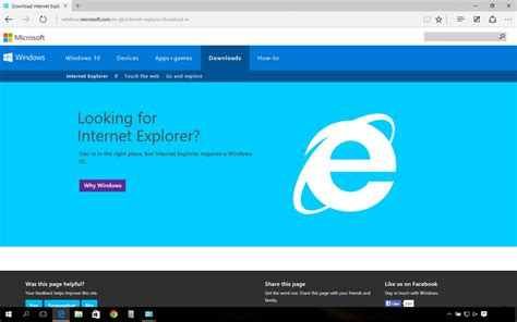 install windows 10 dell laptop internet explorer on a clean install of windows 10