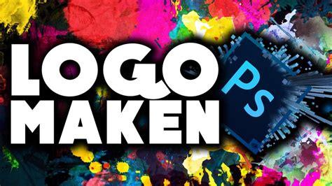 tutorial logo maken logo maken in photoshop photoshop tutorial youtube