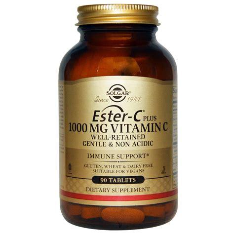 Vitamin Ester C Plus solgar ester c plus 1000 mg vitamin c 90 tablets