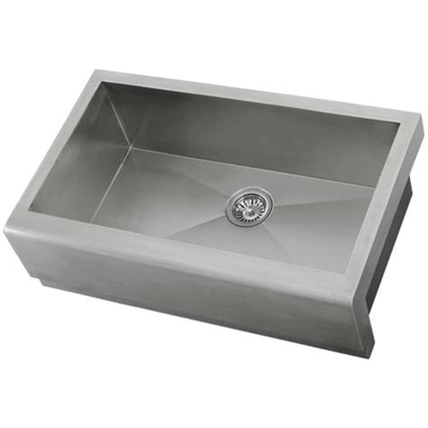 Ticor S4407 33 Quot Apron Farmhouse 16 Gauge Stainless Steel Ticor Kitchen Sinks