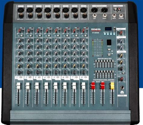 audio mixer mx 808d sms audio china manufacturer products