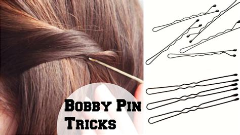 how to use bobby pins and hair pins correctly so they