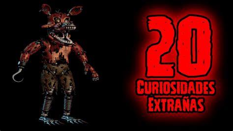 imagenes raras de fnaf top 20 20 curiosidades extra 241 as de nightmare foxy de five