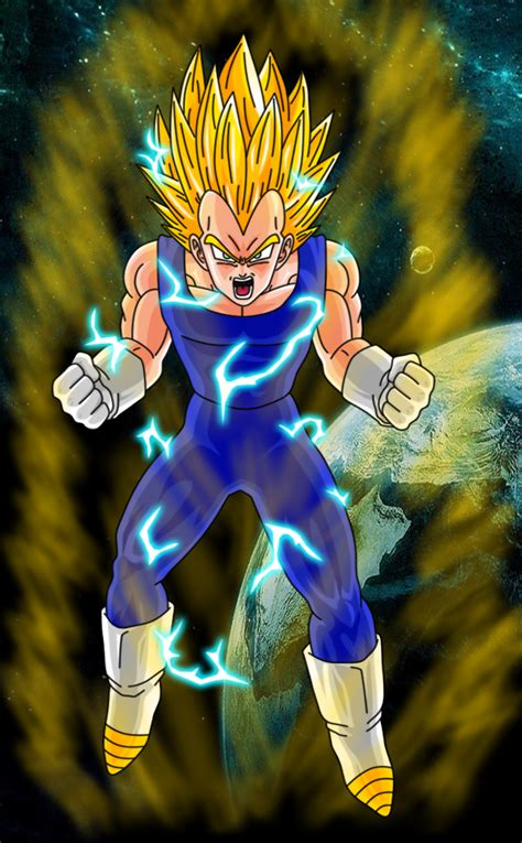 Kaos 3d Sayan 5 Blue vegeta sayan 2 by hayabusasnake on deviantart