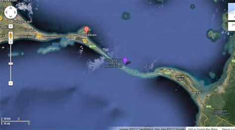 satellite image of ram setu someday somewhere going places ram yatra
