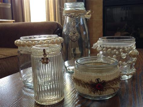 shabby chic jars shabby chic wedding pinterest shabby chic jars and shabby