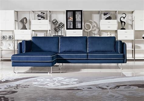2018 navy blue leather sofas for a bold and stunning centerpiece leather sofas