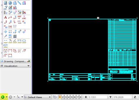 how to convert autocad drawing template file as default