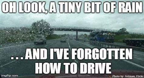 Funny Rain Memes - tiny bit of rain meme