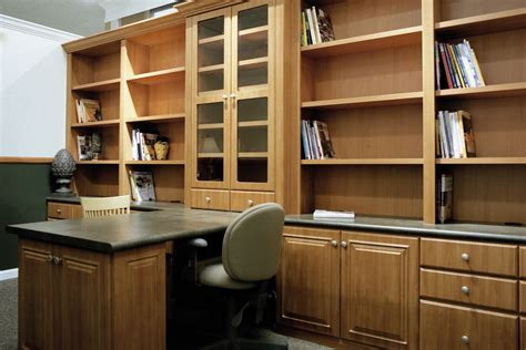 built in home office furniture ideas modern built in