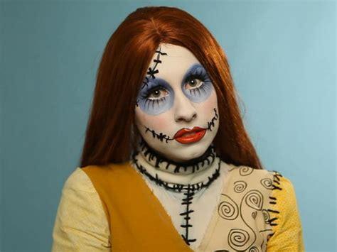 adult halloween makeup tutorial creepy ragdoll hgtv