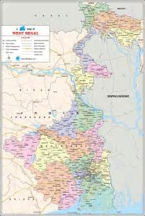 west bengal travel map west bengal state map with