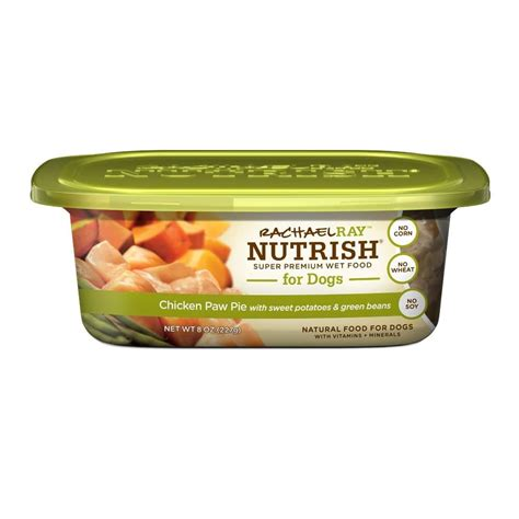 rachael puppy food rachael nutrish food 8oz tub pack of 8