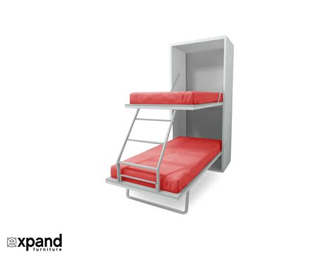 Beds That Fold Up In A Cabinet by Compatto Vertical Murphy Bunk Beds Expand Furniture
