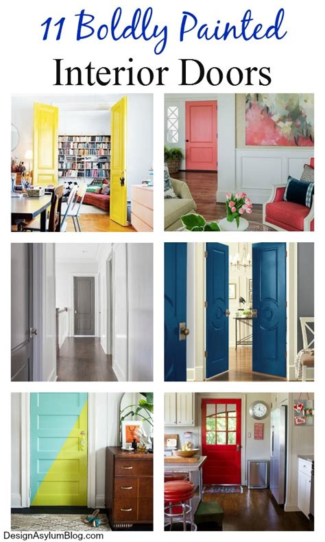 colored interior doors 11 boldly painted interior doors design asylum by