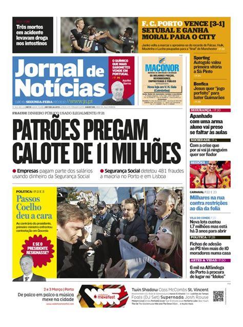 layout de jornal online novo jornal de not 237 cias de portugal news design