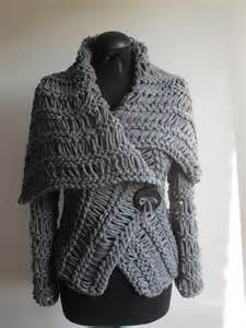 Handmade Knits - divna s sweaters grey sweater handmade knitted unique