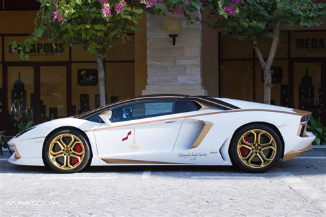 gold and white lamborghini lamborghini aventador golden edition by maatouk design