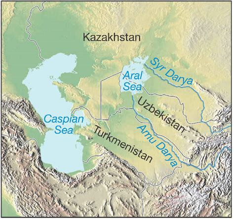 russia map aral sea green dreams the aral sea in its bed
