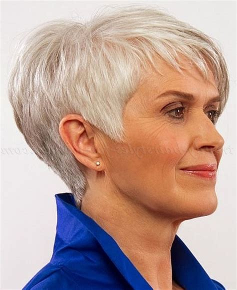 short hairstyles for gray haired women over 60 short hair cuts for women over 60 hairstyles ideas