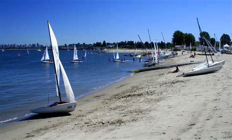 sailboats vancouver sailboats at jericho beach a photo from british columbia