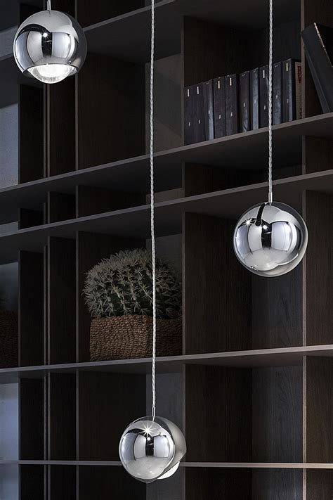 illuminazione a binario basso consumo ladari stile industriale da parete