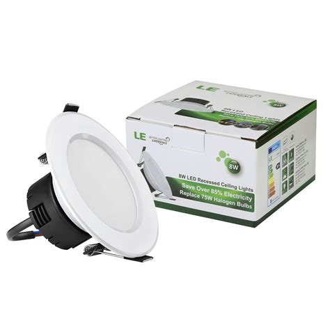 2 x 2 recessed lighting 4 x 8w led recessed downlight fitting 90mm 400lm le