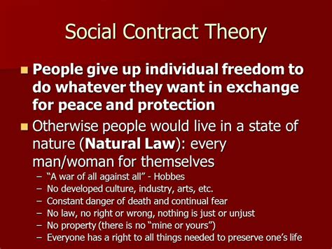 The Social Contract social contract and hobbes locke ppt