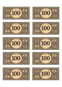 monopoly money 100 budget pinterest money and monopoly