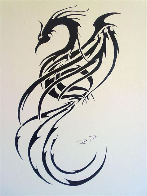 phoenix tribal tattoo designs tribal by ripasquale on deviantart