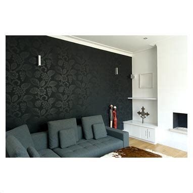 black feature wall living room gap interiors modern living room with black feature wall picture library specialising in