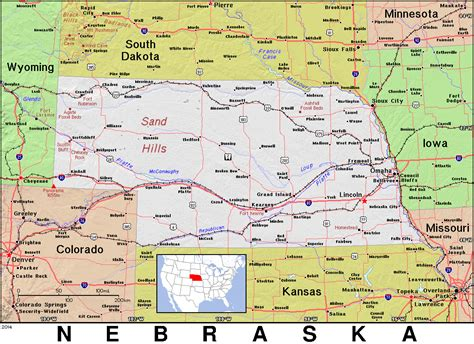 ne map map of ne nebr pictures to pin on pinsdaddy