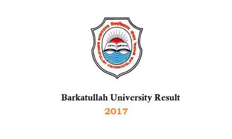Bu Bhopal Mba Syllabus 2017 by Barkatullah Admission 2017