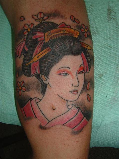 geisha tattoo profilo tatuaggio geisha by traditional love