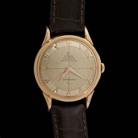 OMEGA CONSTELLATION. Montre d'homme vers 1954/60   2012090350   Expertissim