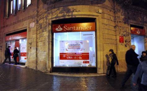 oficina banco santander barcelona santander entre los once bancos del mundo que liderar 225 n