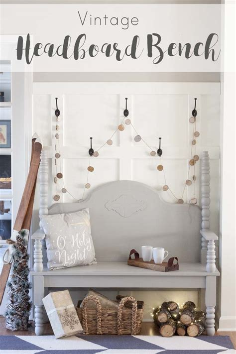 diy vintage headboard diy vintage headboard bench southern revivals