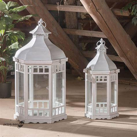 Kerzenständer Weiß by Gartenlaterne Wei 223 Gro 223 Bestseller Shop