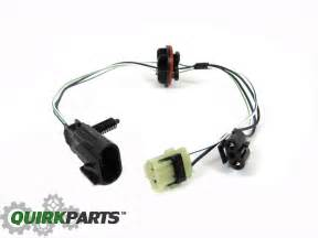 dodge ram 1500 2500 3500 4500 5500 headlight lamp wiring harness oem new mopar ebay