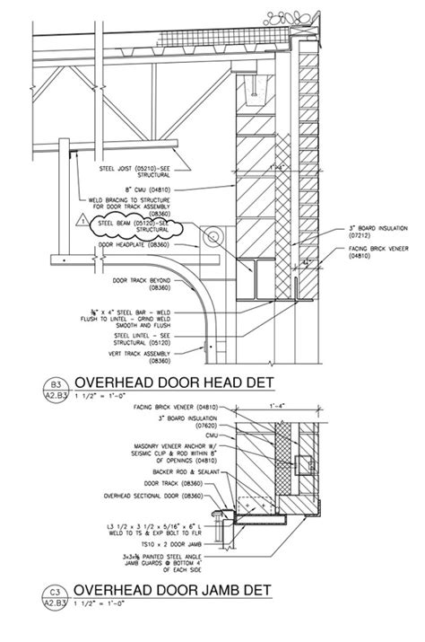 Overhead Door Detail Architectural Details Architekwiki