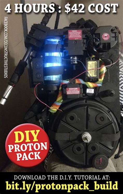 Build A Proton Pack by 45 Best Images About Ghostbuster Build S On