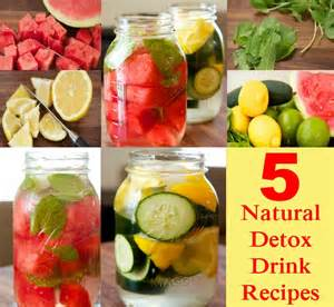 home detox cleanse 5 detox drink recipes diy home things