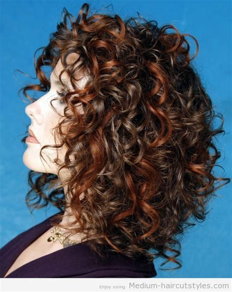 perms for shoulder length hair women over 40 medium curly hairstyles for women over 40 hair