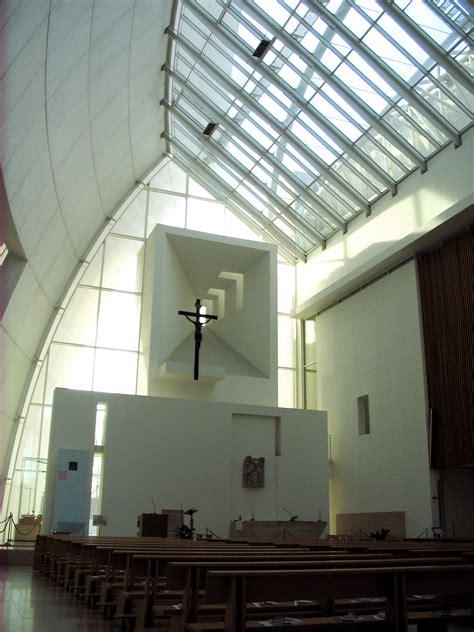 modern church lighting