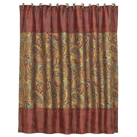 Western Shower Curtains San Angelo Western Shower Curtain