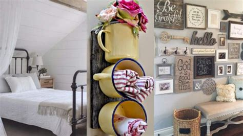 diy farmhouse decor ideas  rustic decorating projects