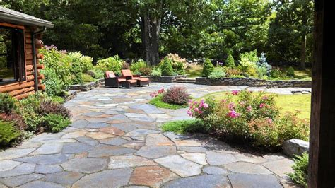 patio garden ideas patio and stone wall by steven breed garden designs using