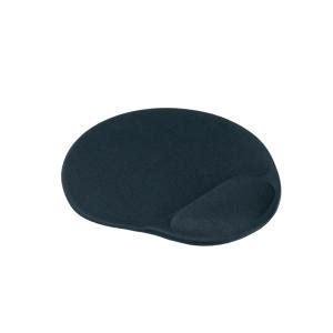 Mouse Pad Dengan Bantalan Gel Black staples mouse pad with gel wrist rest black staples now winc