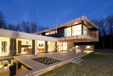 modern villas modern villa in heesch the netherlands