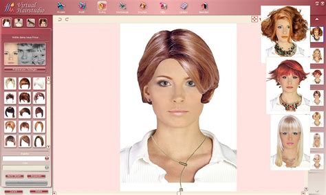 hair makeover download virtual hair makeover software free download